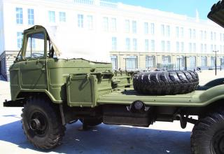 Grad-V 9P125 demilitarized launch vehicle