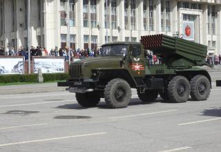 BM-21-1 launch vehicle