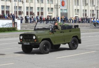 UAZ vehicle