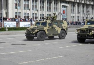 Tigr special vehicle. Russian Defense Ministry Special Operations Forces hardware
