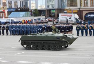 BMD-D airborne combat vehicle