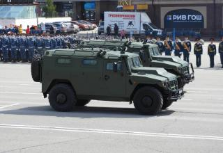 Tiger (Тигр) armoured cross-country vehicle