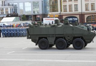 Radiological, chemical, biological reconnaissance vehicle