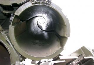 9A52 Smerch MLRS launch vehicle