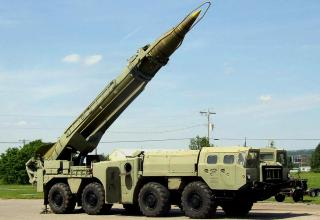 """Оперативно-тактический ракетный комплекс 9К72 """"Эльбрус"""""""