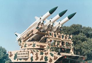 """Зенитно-ракетный комплекс """"Akash"""""""