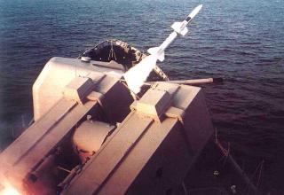 Запуск ракеты из комплекса
