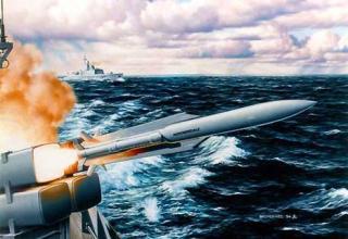 "Противокорабельная ракета ""ASURA""(""ANF"")"