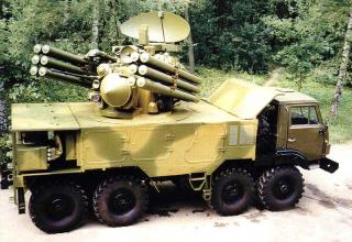 Anti-aircraft missile and cannon system Panzer-C1