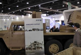 LRSVM combat vehicle variant (NIMR chassis)