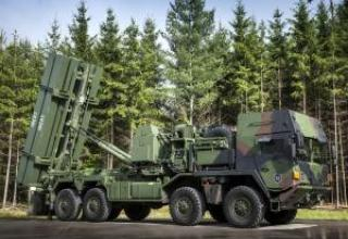 Experienced anti-aircraft missile system MEADS