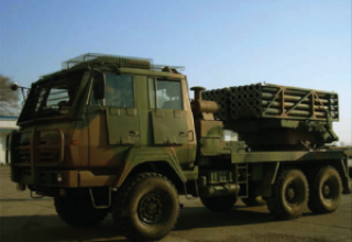 SR4 multiple launch rocket system