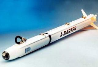 V3E A-Darter Aviation Missile