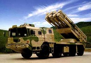 AR1A multiple launch rocket system