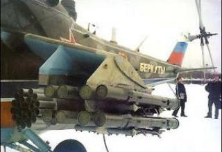 Aeronautical missile system Ataka-B
