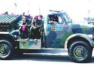 Fighting vehicle BM-14-17 (index 8U36)