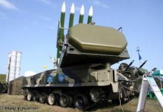 "9K317 ""Buk-M2"" medium-range anti-aircraft missile system"