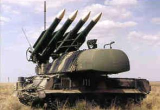 Anti-aircraft missile system 9K37 Beech