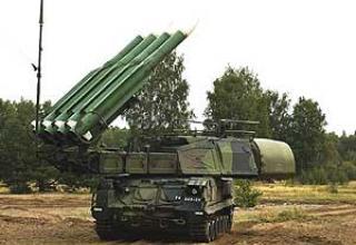 Anti-aircraft missile system 9K37 Buk-M1