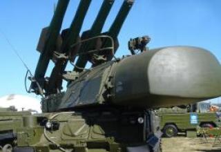 Anti-aircraft missile system Buk-M1-2 (Ural)