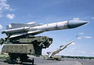 Anti-aircraft missile system S-200V Vega