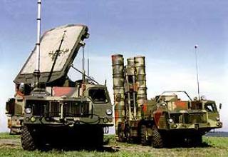 Anti-aircraft missile system C-300 PMU-1