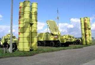 Anti-aircraft missile system C-300 PMU-2 'Favorite'