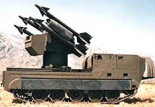 Anti-aircraft missile system Chaparral