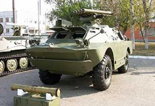 Antitank missile system 9K113 Contest