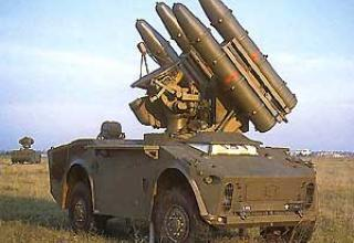 Anti-aircraft missile system Crotale