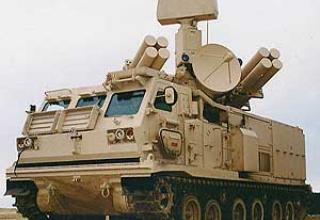 Anti-aircraft missile system Crotale-NG