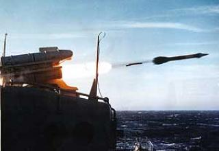 Anti-aircraft missile system Crotale Naval