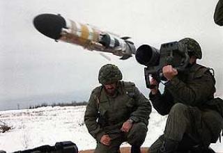Eryx anti-tank missile system