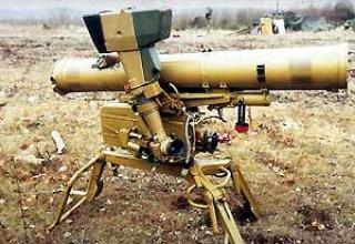 Portable anti-tank complex 9K111 'Fagot'