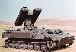 Anti-aircraft missile system 9A34A Gyurza