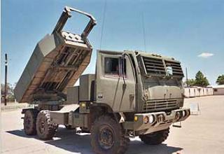 HIMARS multiple launch rocket system