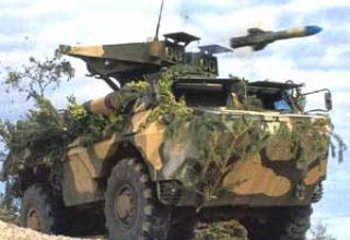 HOT anti-tank missile system
