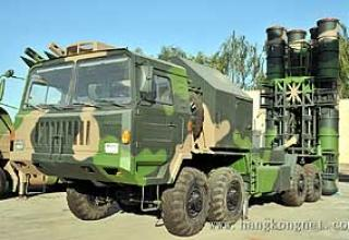 Anti-aircraft missile system HQ-9 (FD-2000)