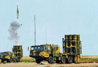 Antiaircraft missile system HQ-16 (LY-80)