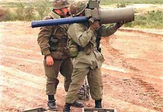 Javelin portable anti-aircraft missile system