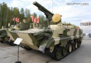 Anti-tank missile system 9K123 Chrysanthemum