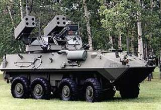 Anti-aircraft missile system LAV-AD