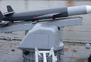 Anti-submarine missile system Malafon