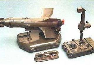 Anti-tank missile system 9K11-2 Malyutka-2
