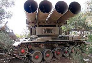 290 mm MAR-290 multiple launch rocket system