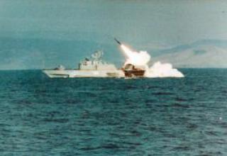 """Antisubmarine missile system RPK-9 """"Medvedka"""""""