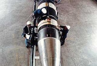 XMGM-134A Midgetman intercontinental ballistic missile
