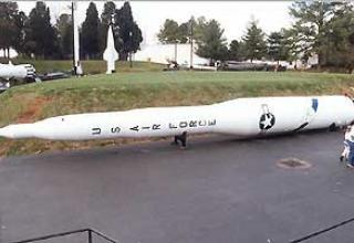 Intercontinental ballistic missile LGM-30A/B Minuteman-1