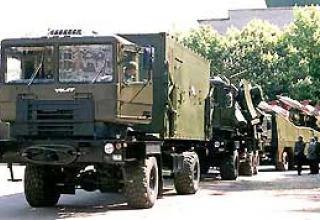 Anti-aircraft missile system C-125 Pechora-2