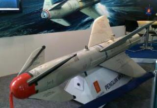 Penguin anti-ship missile